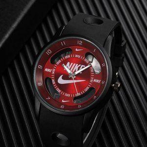 Nike Watch -RED Hollow Sports Analog Wristwatch